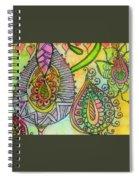 Fantasy Flowers Spiral Notebook