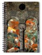 Fantasy Goldfish Aquarium Spiral Notebook