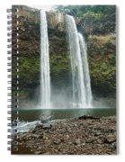 Fantasy Island Falls Spiral Notebook