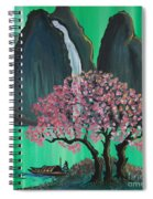 Fantasy Japan Spiral Notebook