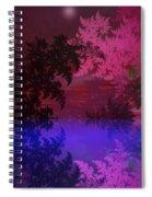 Fantasy Landscape Spiral Notebook