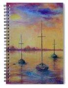 Fantasy Sailboats  Spiral Notebook