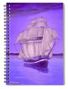 Fantasy Shade Spiral Notebook