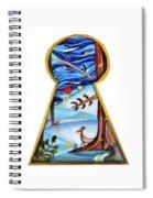 Fantasy Through The Keylock Spiral Notebook