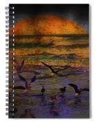 Fantasy Wings Spiral Notebook