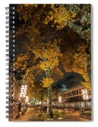 Fanueil Hall Boston Ma Autumn Foliage Spiral Notebook