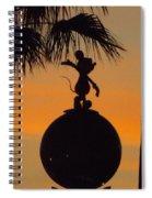 Farewell Mickey Spiral Notebook