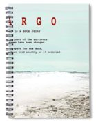 Fargo, This Is A True Story, Art Poster Spiral Notebook