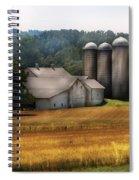 Farm - Barn - Home On The Range Spiral Notebook