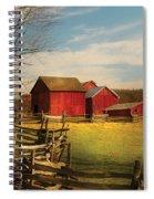 Farm - Barn - I Bought The Farm Spiral Notebook