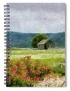 Farm - Barn - Out In The Country  Spiral Notebook