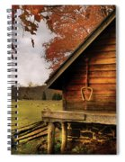Farm - Barn - Shed Out Back Spiral Notebook