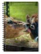 Farm - Cow - Let Mommy Clean That Spiral Notebook