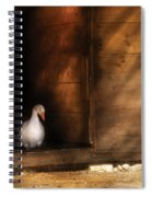 Farm - Duck - Welcome To My Home  Spiral Notebook