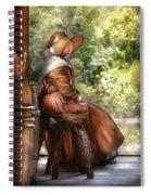 Farm - Farmer - Just Sitting Spiral Notebook
