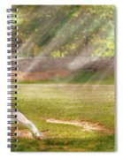 Farm - Geese -  Birds Of A Feather - Panorama Spiral Notebook