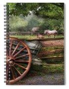 Farm - Horse - Grey Mare Spiral Notebook