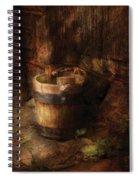 Farm - Pail - An Old Pail Spiral Notebook