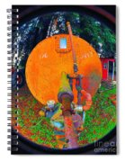 Farm And Logging Machinery Spiral Notebook