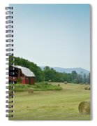 Farm Barn Listing Spiral Notebook