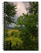 Farm Before The Storm Spiral Notebook