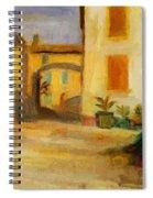 Farm Courtyard Spiral Notebook