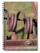 Farm Equipment 7 Spiral Notebook