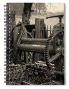 Farm Equipment Art Spiral Notebook