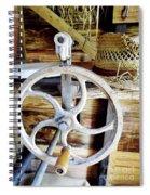 Farm Equipment Corn Sheller Spiral Notebook