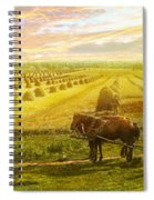 Farm - Finland - Field Of Hope 1899 Spiral Notebook