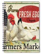 Farm Fresh Eggs-b Spiral Notebook