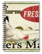 Farm Fresh Eggs-c Spiral Notebook