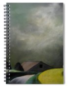 Farm Houses Spiral Notebook