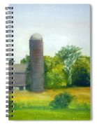 Farm In The Pine Barrens  Spiral Notebook
