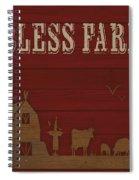 Farm Life-jp3220 Spiral Notebook