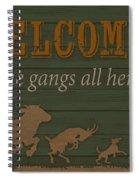 Farm Life-jp3222 Spiral Notebook