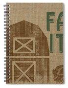 Farm Life-jp3235 Spiral Notebook