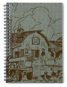 Farm Life-jp3236 Spiral Notebook