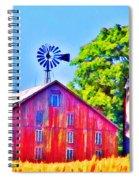 Farm Near Gettysburg Spiral Notebook