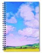 Farm Near San Luis Obispo Spiral Notebook