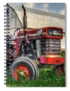 Farm Scene - Painting Spiral Notebook