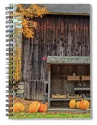 Farm Stand Etna New Hampshire Spiral Notebook