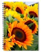 Farm Stand Sunflowers #8 Spiral Notebook