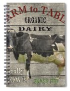 Farm To Table Dairy-jp2629 Spiral Notebook