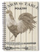 Farm To Table-jp2110 Spiral Notebook