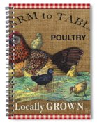 Farm To Table-jp2388 Spiral Notebook