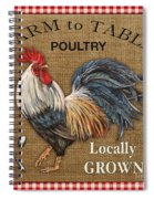 Farm To Table-jp2390 Spiral Notebook