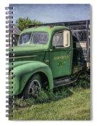 Farm Truck Spiral Notebook