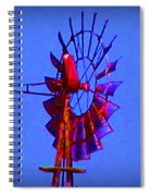 Farm Windmill Spiral Notebook