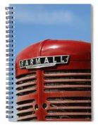 Farmall Tractor Spiral Notebook